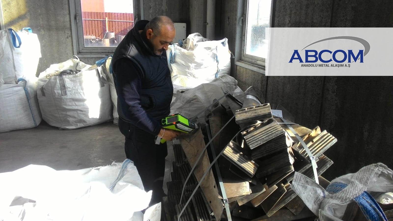 Abcom Anadolu Metal Alaşım, Metal Analizleri İçin Taşınabilir XRF Analiz Cihazları Devi Thermo Scientific'in Niton XL2 Plus Modelini Tercih Etti!
