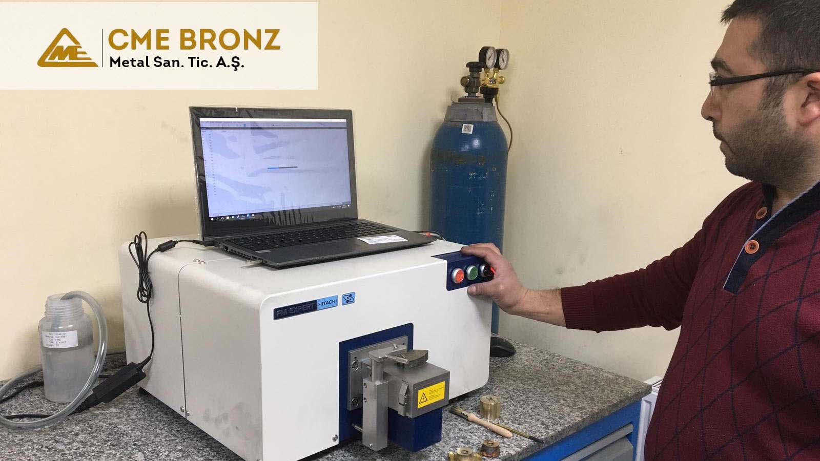 CME Bronz Metal A.Ş. Üretim Kontrolleri İçin Almanya Üretimli Hitachi FM Expert Optik Emisyon Spektrometresini Tercih Etti!