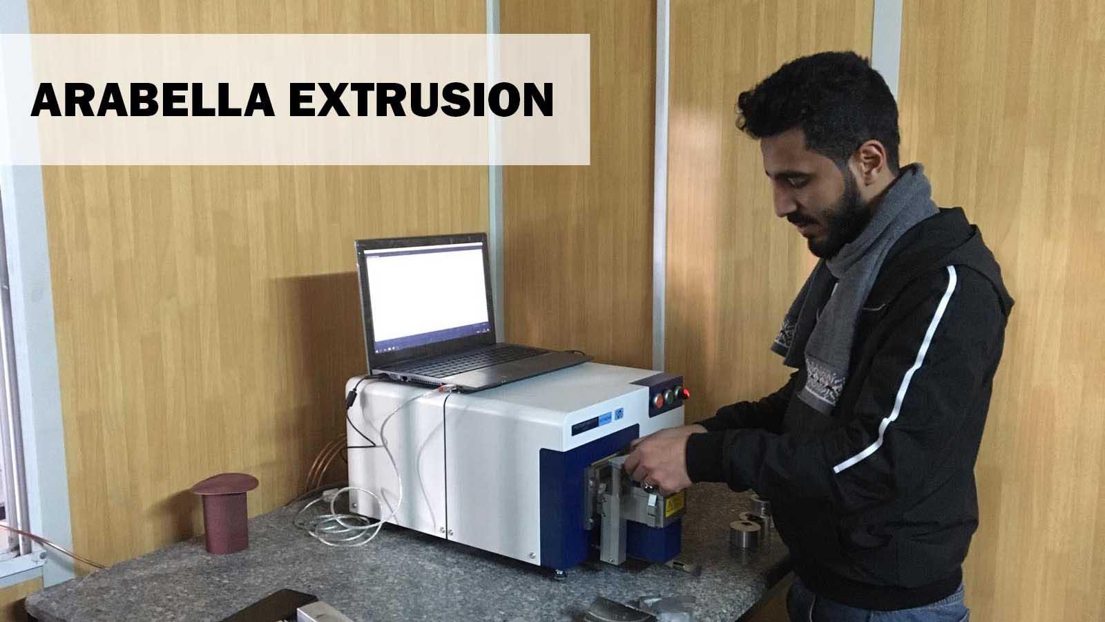 Arabella Extrusion, Alüminyum Analizleri İçin Hitachi Foundry Master Smart Optik Emisyon Spektrometresini Kullanmaya Başladı!