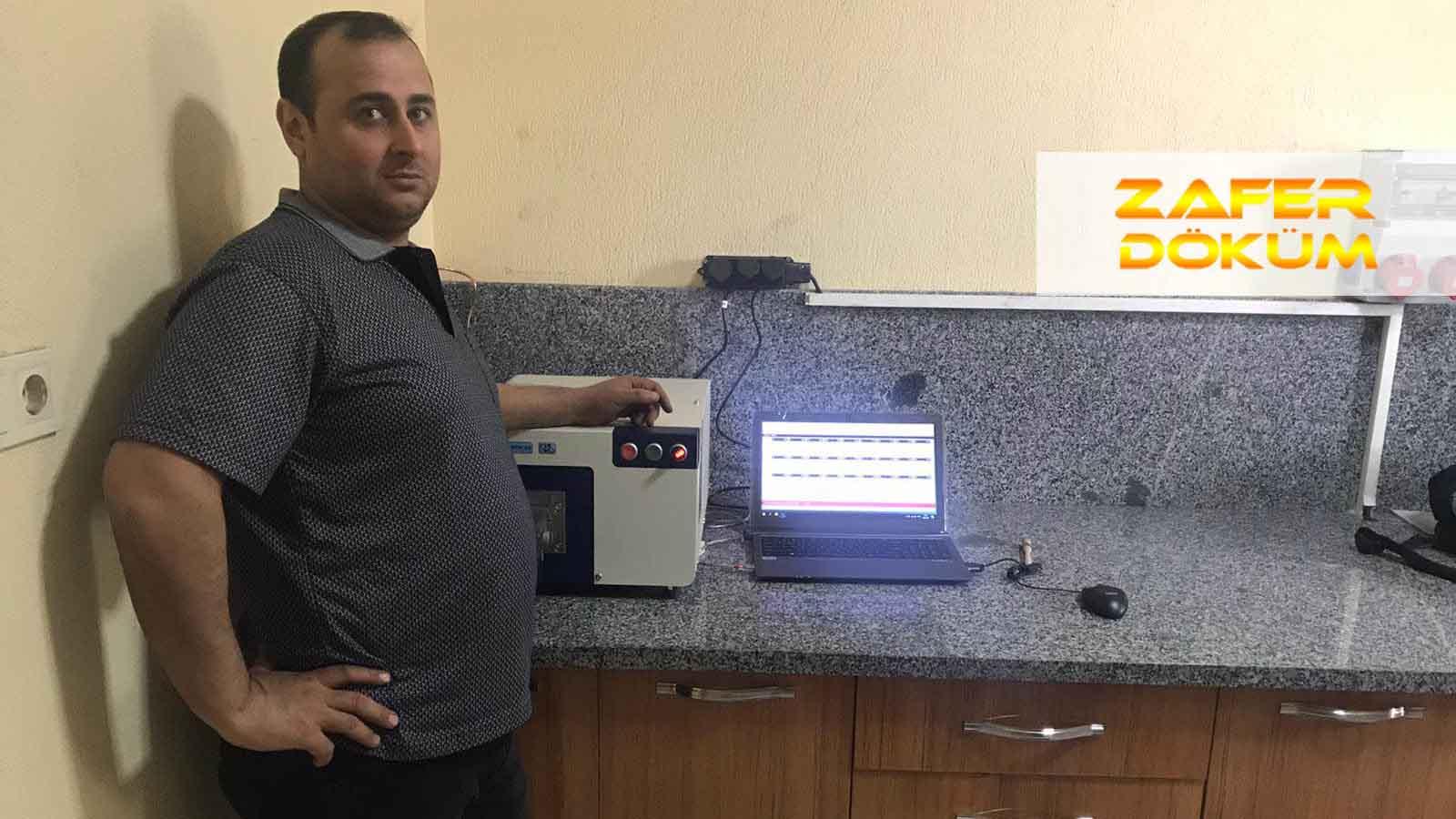 Zafer Döküm, Üretim Kontollerini Hitachi Foundry Master Smart Optik Emisyon Spektrometresiyle Yapmaya Başladı!