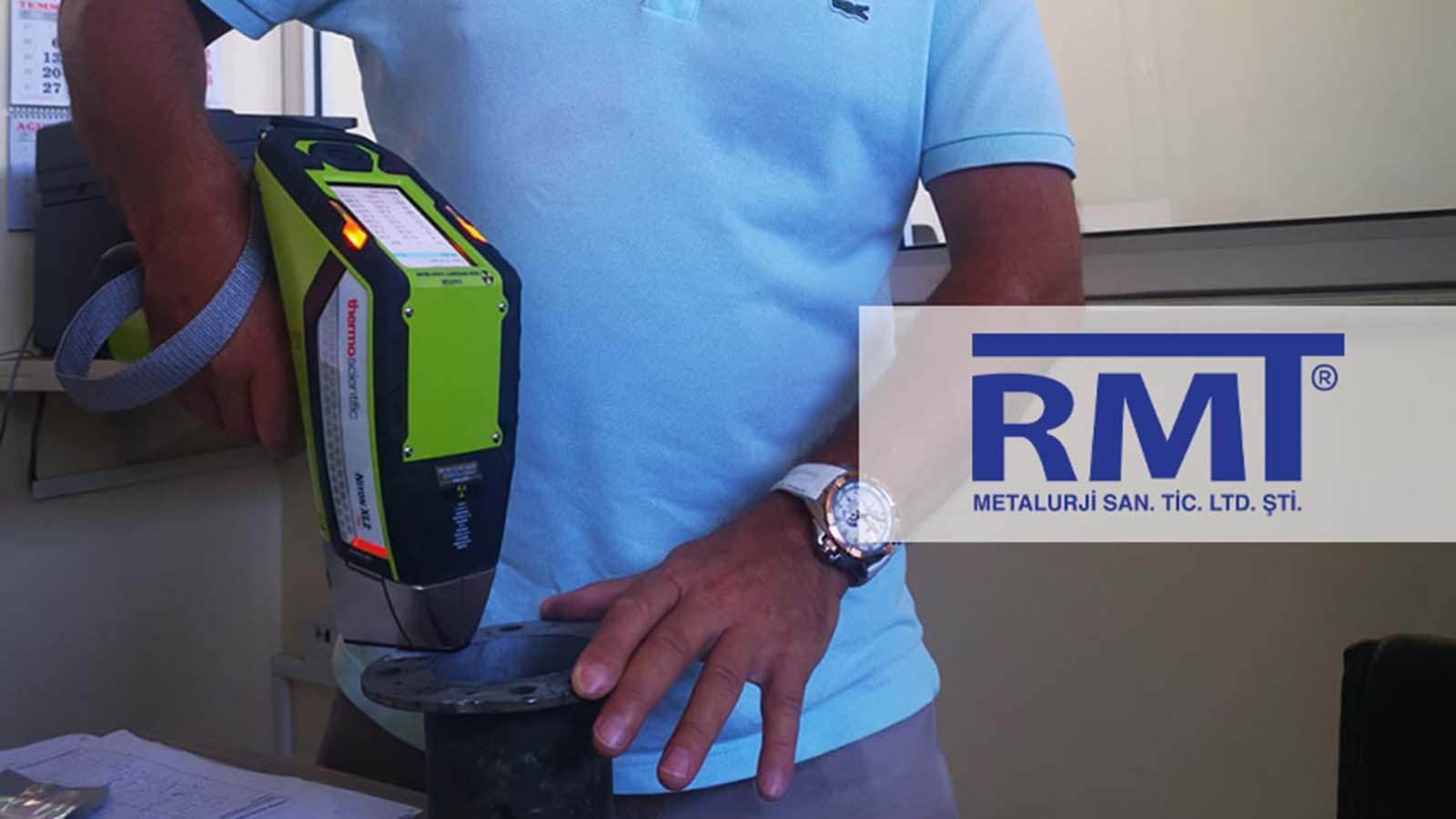 RMT Metalurji, Malzeme Ön Kontrollerini ABD Üretimli Thermo Scientific Niton XL2 980 Plus Taşınabilir XRF Analiz Cihazıyla Yapmaya Başladı!