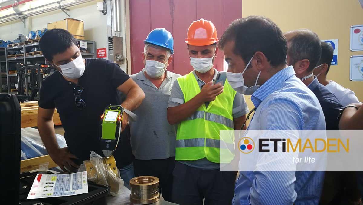 Eti Maden, Emet Tesisleri Kırka Bor Tesislerinden Sonra Bir Kez Daha Thermo Scientific Niton XRF Analiz Cihazını Tercih Etti!