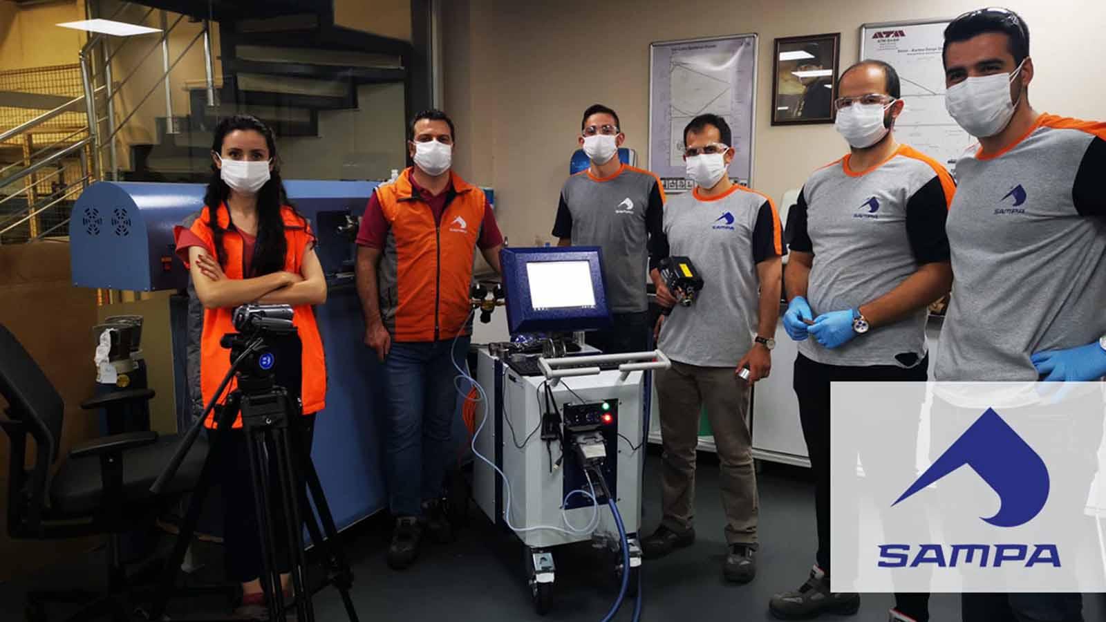Sampa Otomotiv, Malzeme Giriş Kalite Kontrollerini Hitachi Test Master Pro Taşınabilir Optik Emisyon Spektrometresiyle Yapmaya Başladı!