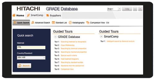 total materia grade database