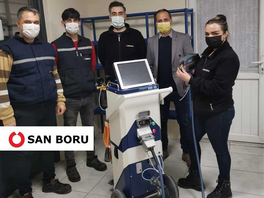 San Boru, Hitachi'nin Almanya Üretimli PMI Master Pro2 Taşınabilir Spektrometresini Tercih Etti!
