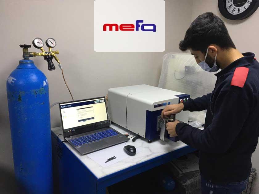 Mefa Endüstri, Üretiminde Kontrollerini Hitachi Foundry Master Smart Spektrometresiyle Yapmaya Başladı!