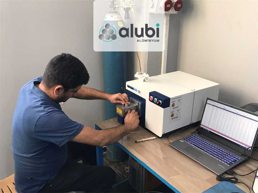 Alubi Alüminyum, Alüminyum Biyet Üretimlerinde Hitachi'nin Almanya üretimli Foundry Master Smart Spektrometresini Tercih Etti!