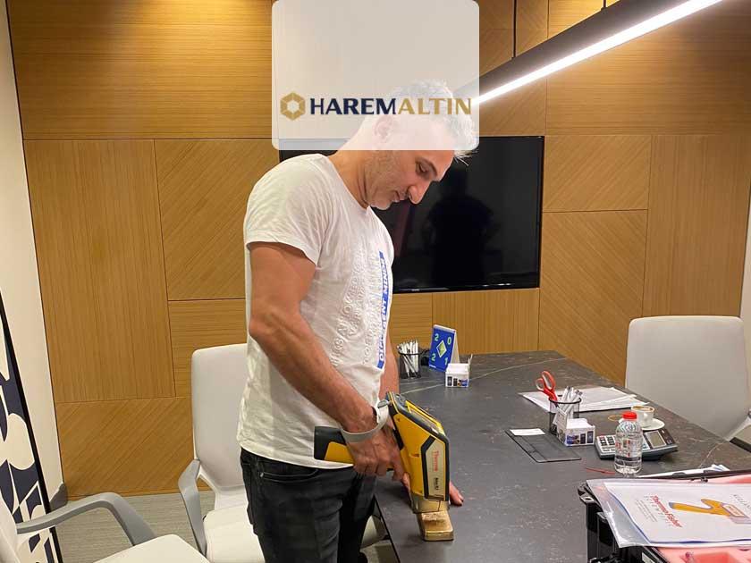 Harem Altın, Külçe Altınlarını Thermo Scientific Niton XL2 XRF Analiz Cihazıyla Kontrol Etmeye Başladı!
