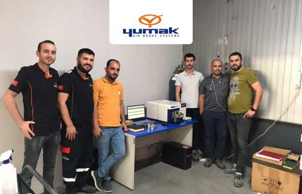 Yumak Otomotiv, Hitachi Foundry Master Smart Spektrometresini Kullanmaya Başladı!